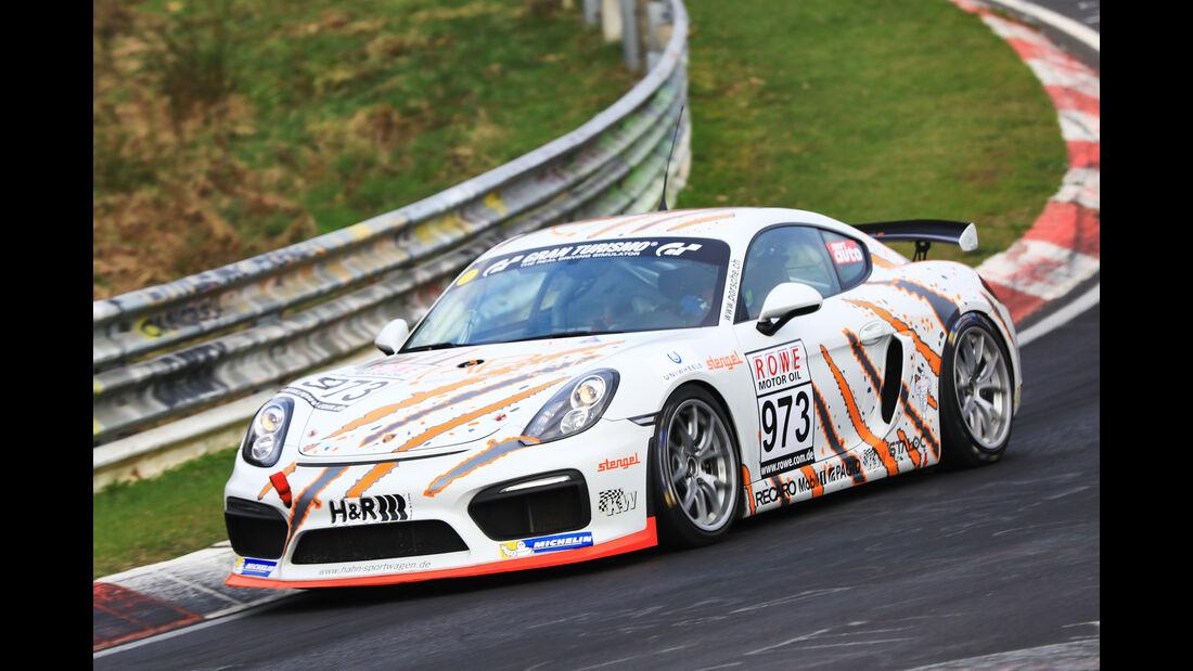 VLN - Nürburgring Nordschleife - Startnummer #973 - Porsche Cayman GT4 Clubsport - Cup3