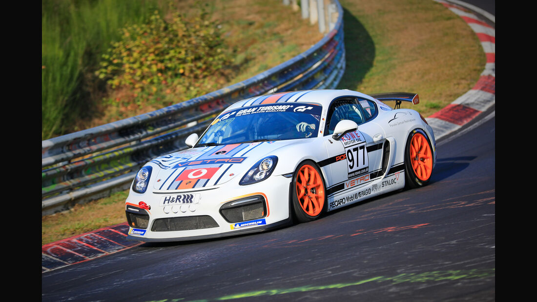 VLN - Nürburgring Nordschleife - Startnummer #977 - Porsche Cayman GT4 CS - Team Mathol Racing - CUP3