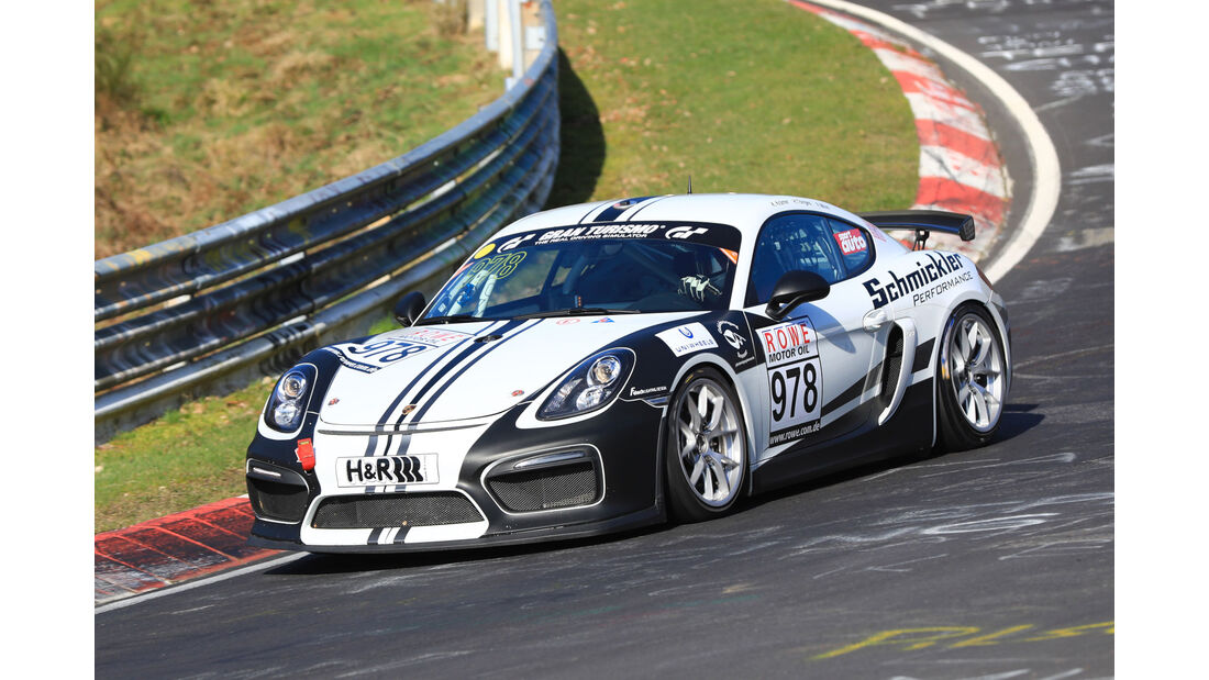 VLN - Nürburgring Nordschleife - Startnummer #978 - Porsche Cayman GT4 Clubsport - CUP3
