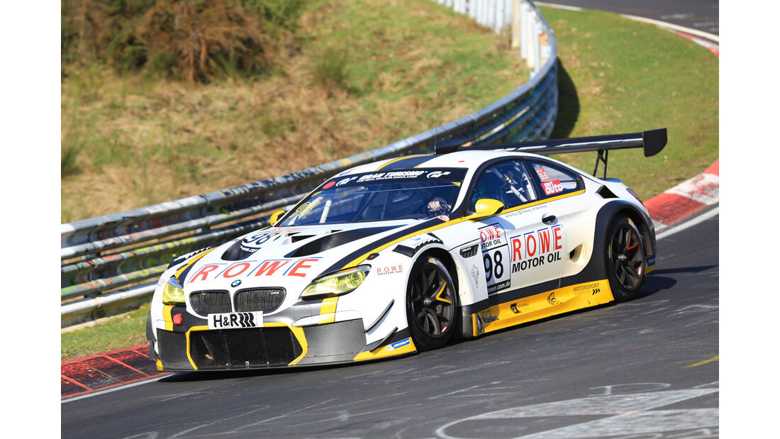 VLN - Nürburgring Nordschleife - Startnummer #98 - BMW M6 GT3 - Rowe Racing - SP9