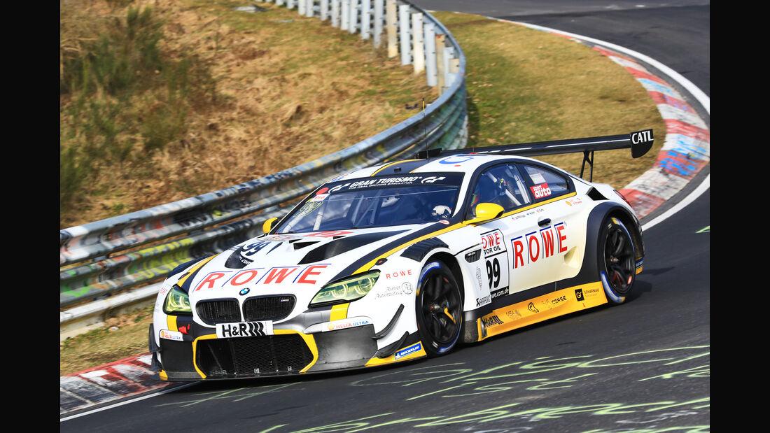 VLN - Nürburgring Nordschleife - Startnummer #99 - BMW M6 GT3 - Rowe Racing - SP9 Pro