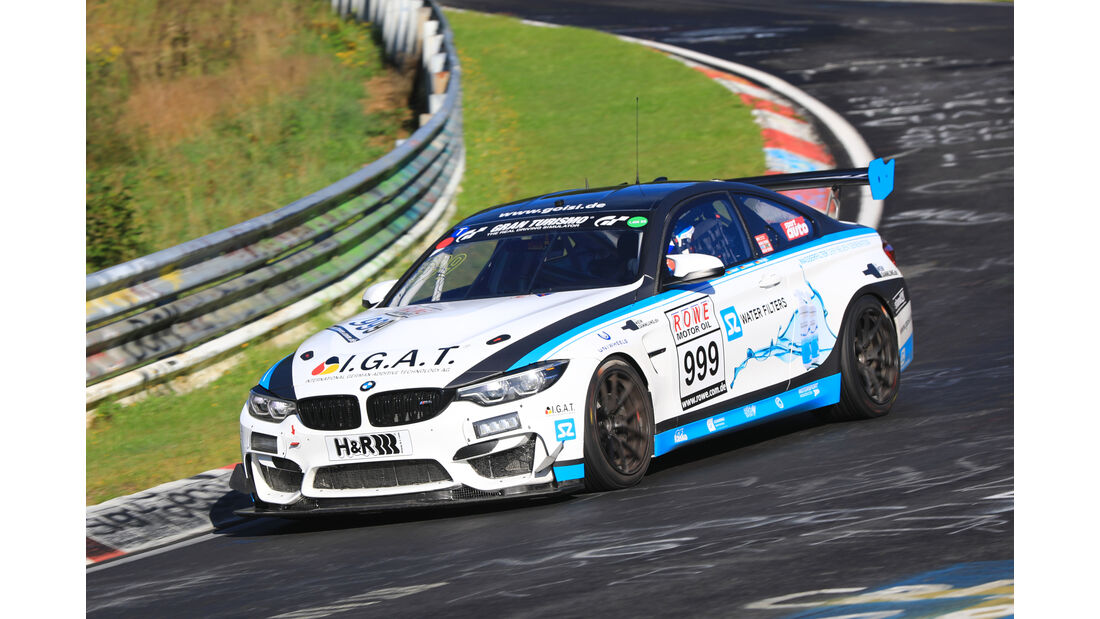 VLN - Nürburgring Nordschleife - Startnummer #999 - BMW M4 GT4 - Rowe Racing - SP8T
