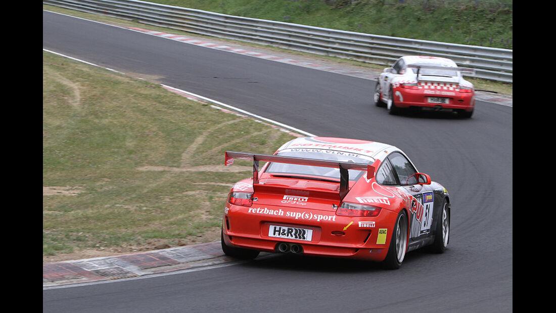 VLN, Porsche 911 GT3 Cup 997, Dörr Motorsport, #051, Nürburgring