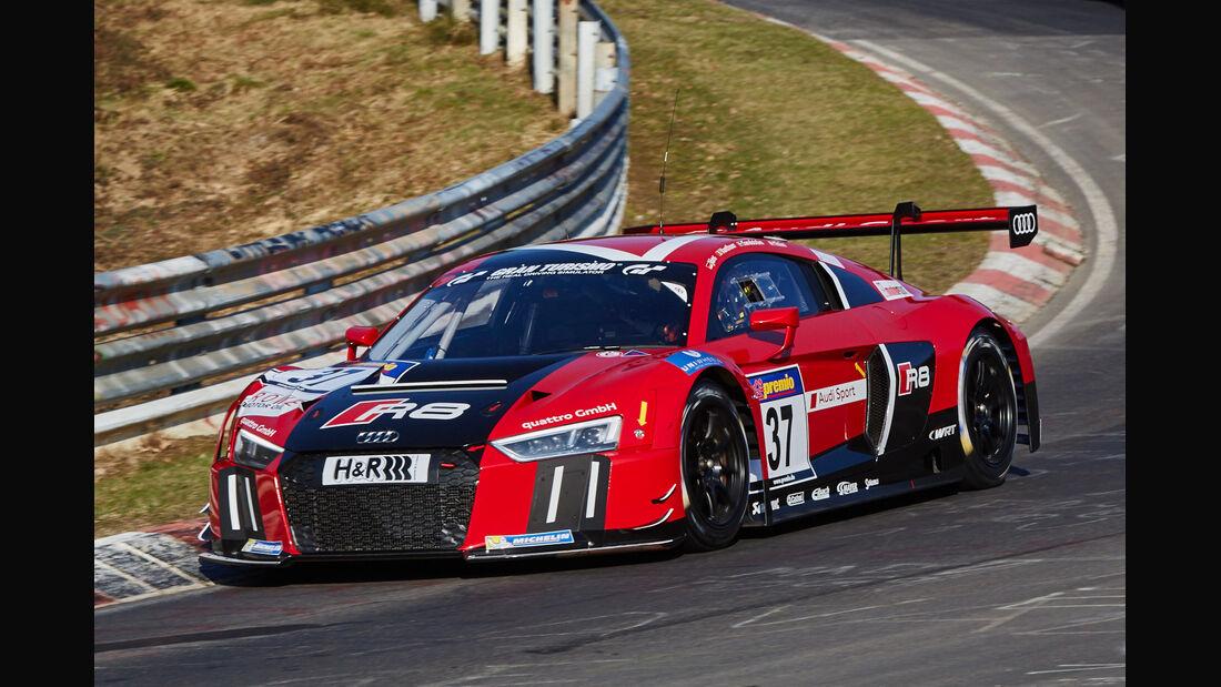 VLN2015-Nürburgring-Audi R8 LMS-Startnummer #37-SP9