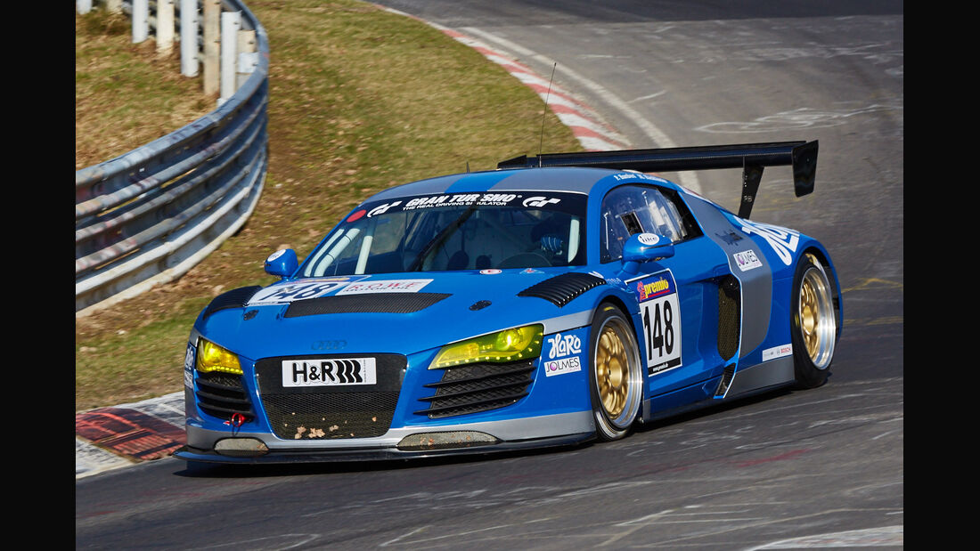 VLN2015-Nürburgring-Audi R8-Startnummer #148-SP8