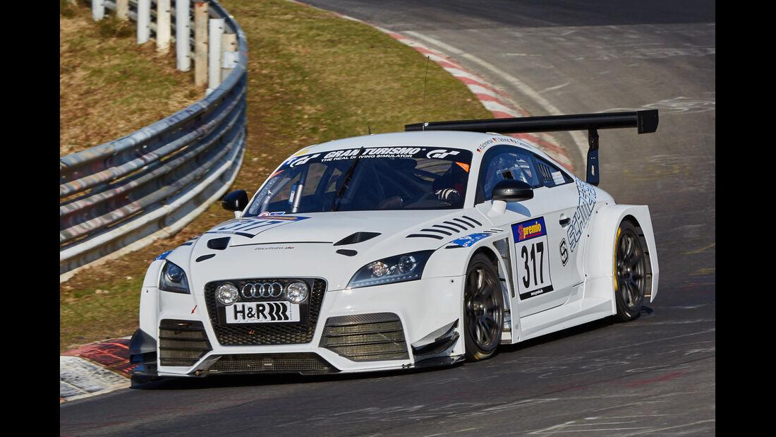 VLN2015-Nürburgring-Audi TTRS-Startnummer #317-SP3T