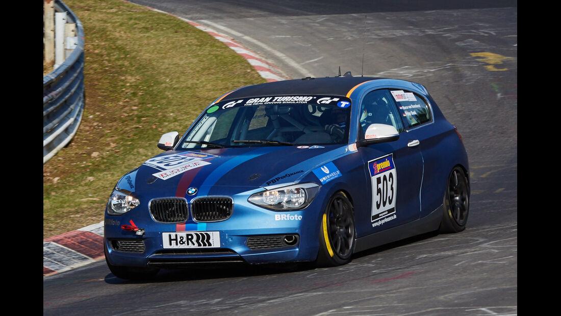 VLN2015-Nürburgring-BMW 125i-Startnummer #503-VT2