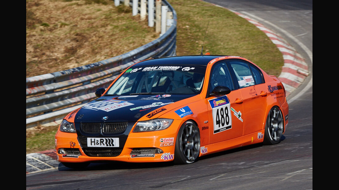 VLN2015-Nürburgring-BMW 325i-Startnummer #488-V4