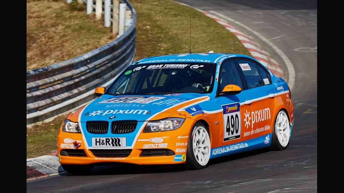 VLN2015-Nürburgring-BMW 325i-Startnummer #490-V4