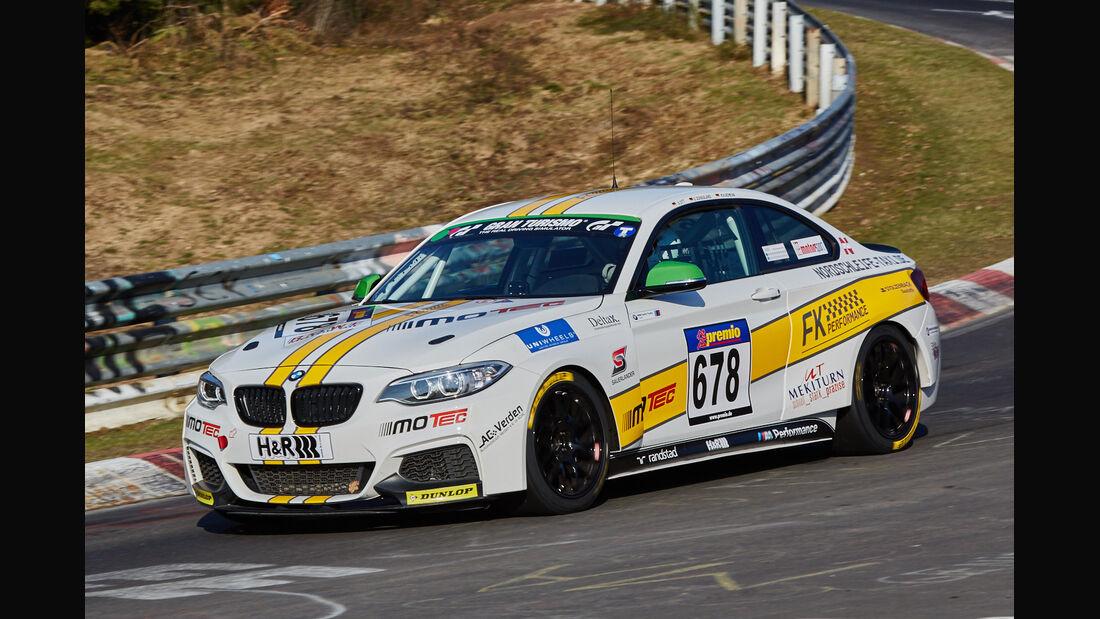 VLN2015-Nürburgring-BMW M235i Racing Cup-Startnummer #678-CUP5