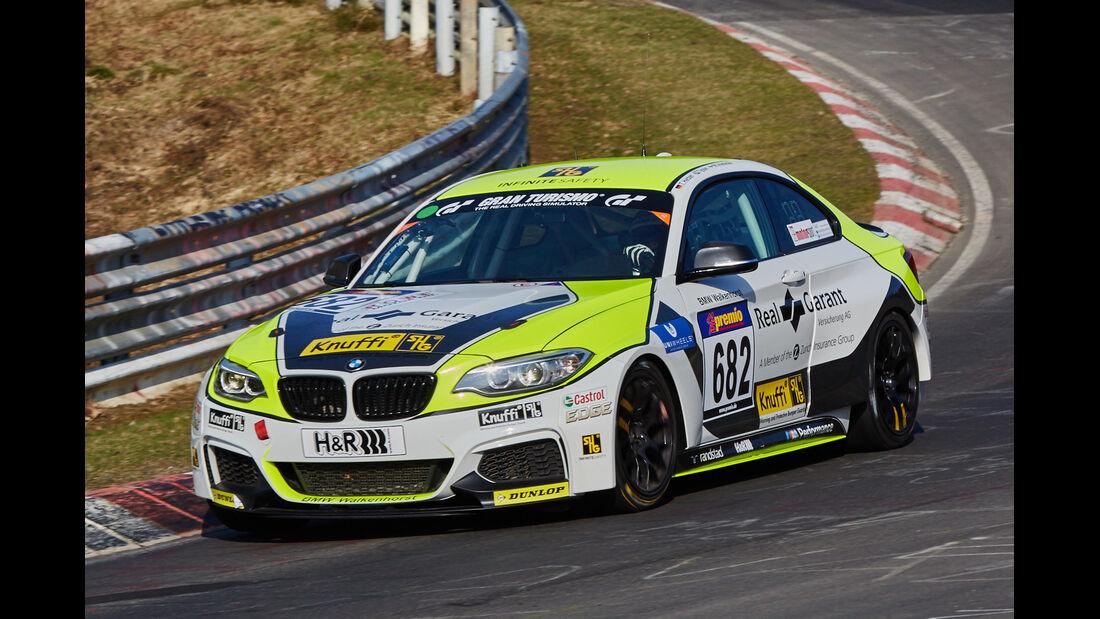 VLN2015-Nürburgring-BMW M235i Racing Cup-Startnummer #682-CUP5