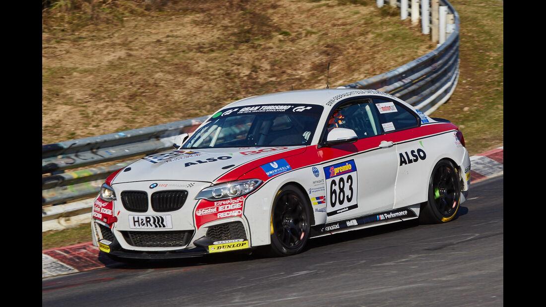VLN2015-Nürburgring-BMW M235i Racing Cup-Startnummer #683-CUP5