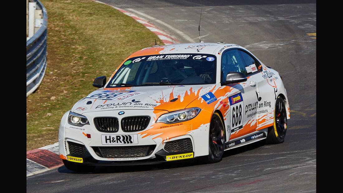 VLN2015-Nürburgring-BMW M235i Racing Cup-Startnummer #688-CUP5