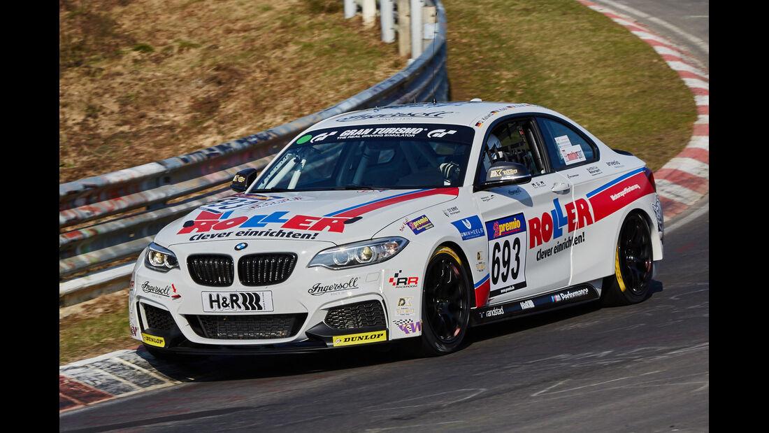 VLN2015-Nürburgring-BMW M235i Racing Cup-Startnummer #693-CUP5