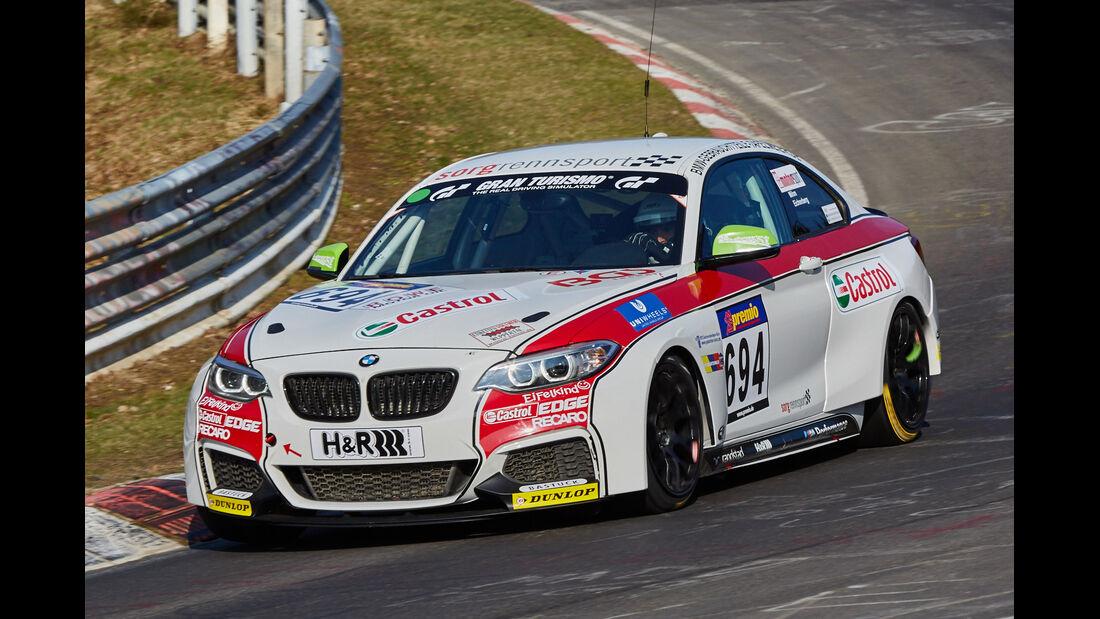 VLN2015-Nürburgring-BMW M235i Racing Cup-Startnummer #694-CUP5