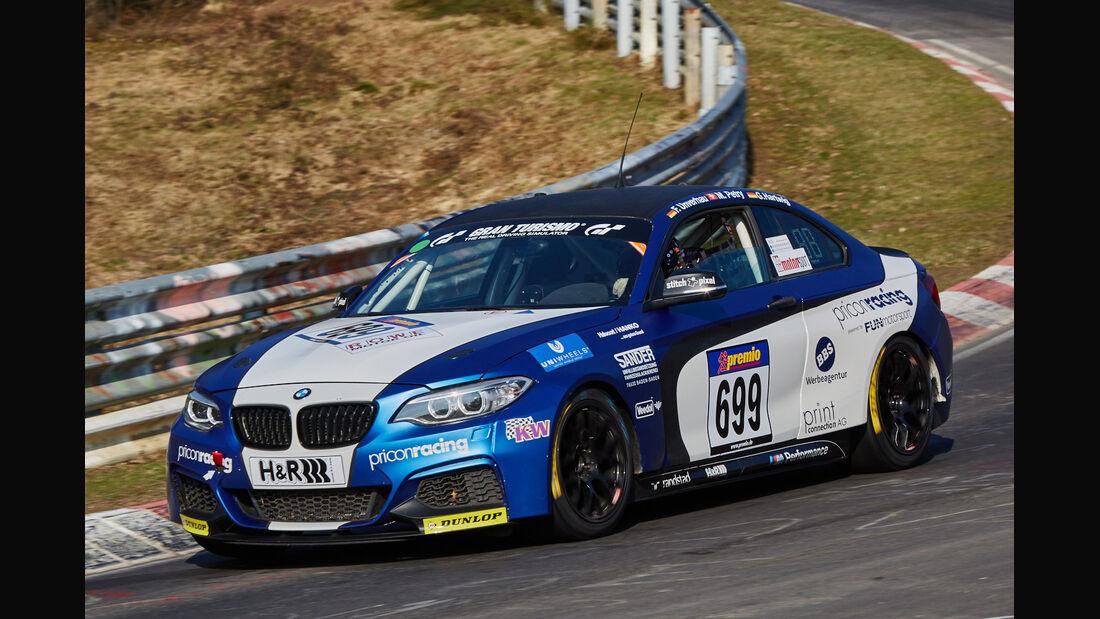 VLN2015-Nürburgring-BMW M235i Racing Cup-Startnummer #699-CUP5