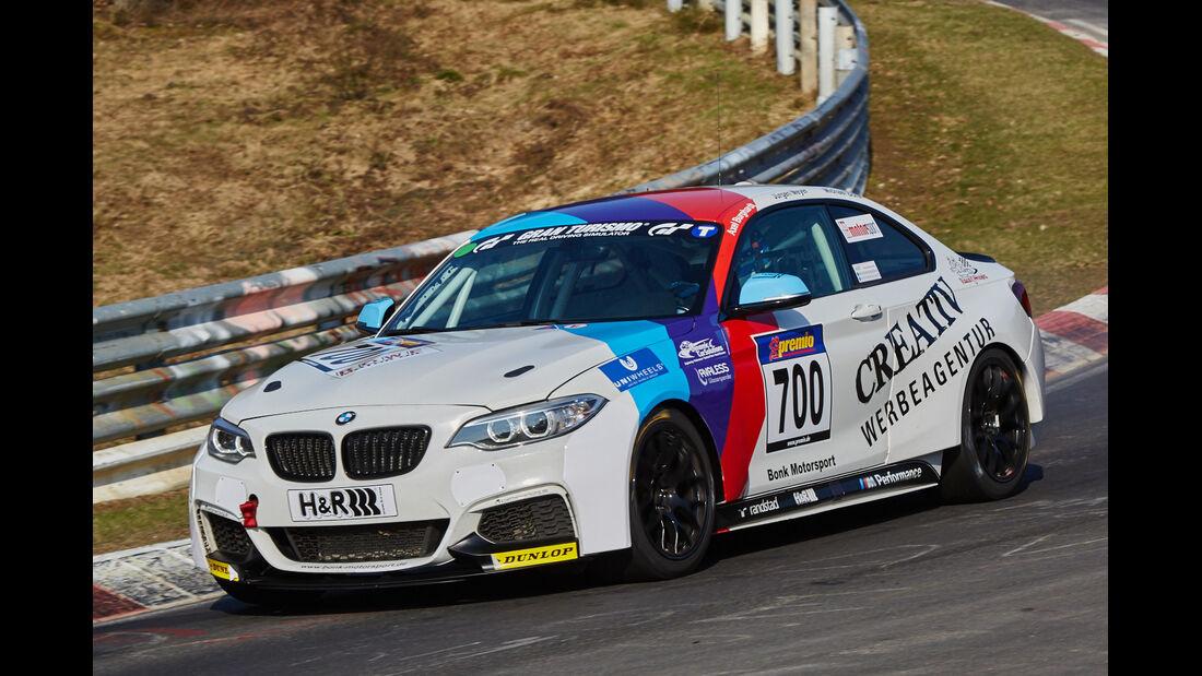 VLN2015-Nürburgring-BMW M235i Racing Cup-Startnummer #700-CUP5