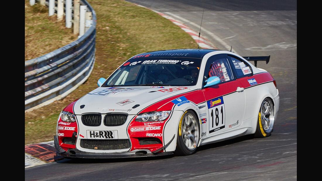 VLN2015-Nürburgring-BMW M3 GT4-Startnummer #181-SP10