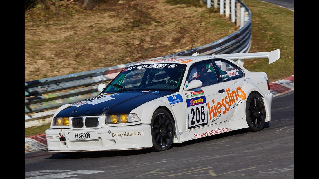 VLN2015-Nürburgring-BMW M3-Startnummer #206-SP6
