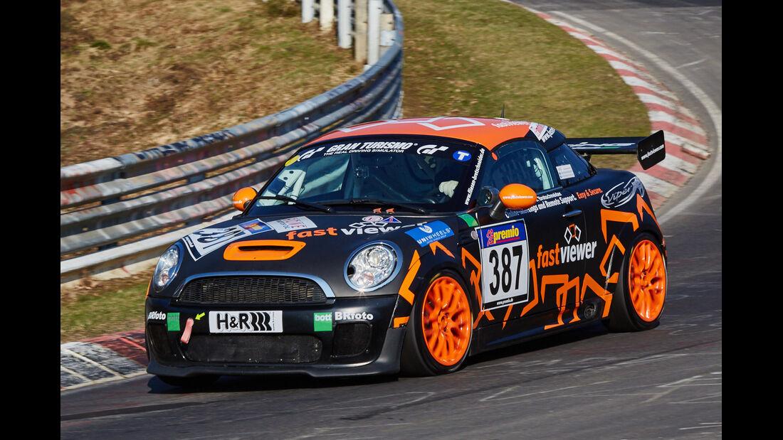 VLN2015-Nürburgring-BMW MINI JCW-Startnummer #387-SP2T