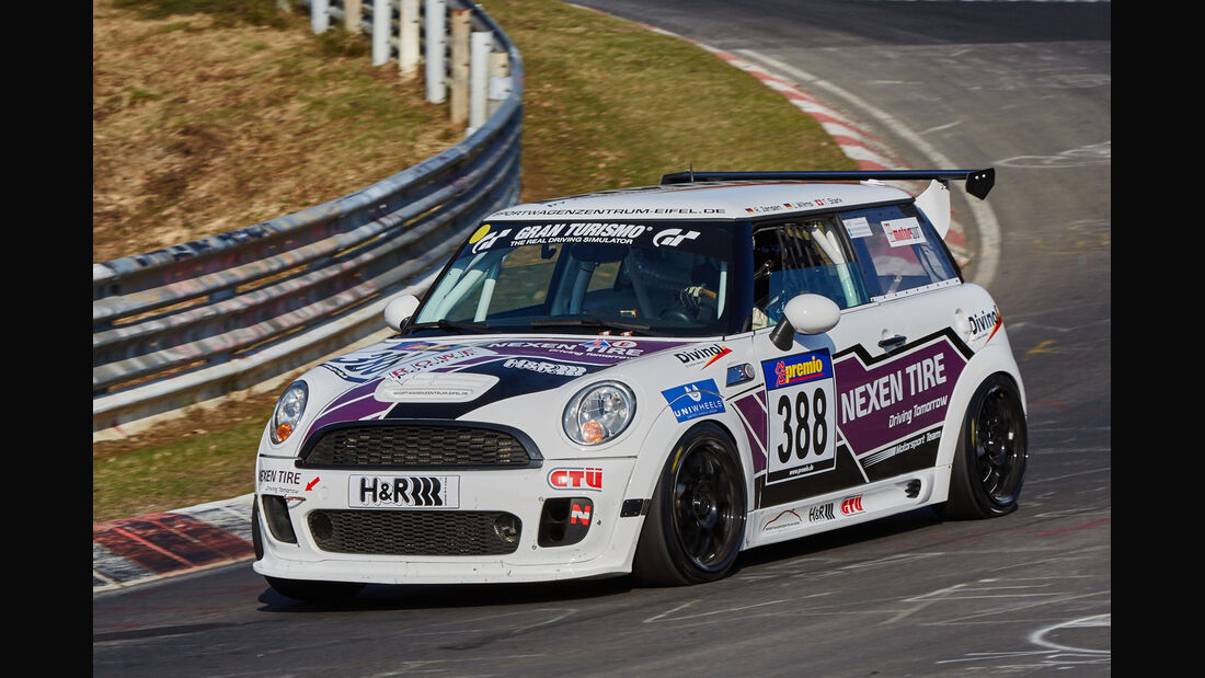 VLN2015-Nürburgring-BMW MINI JCW-Startnummer #388-SP2T