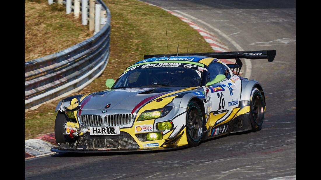 VLN2015-Nürburgring-BMW Z4 GT3-Startnummer #26-SP9