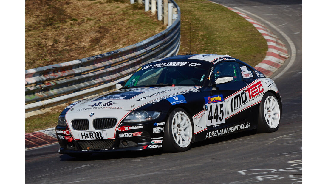 VLN2015-Nürburgring-BMW Z4-Startnummer #445-V5