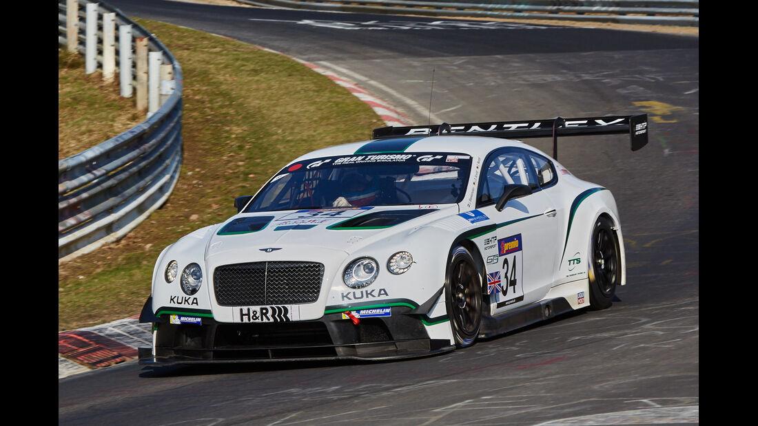 VLN2015-Nürburgring-Bentley Continental GT3-Startnummer #34-SP9