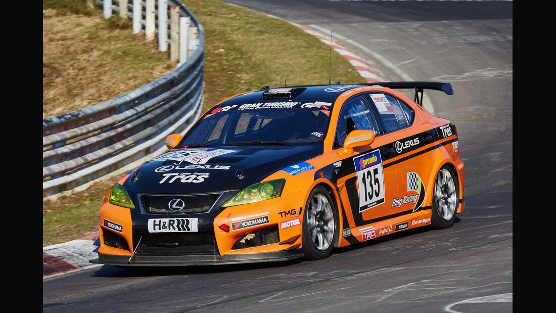 VLN2015-Nürburgring-Lexus ISF CCS-R-Startnummer #135-SP8