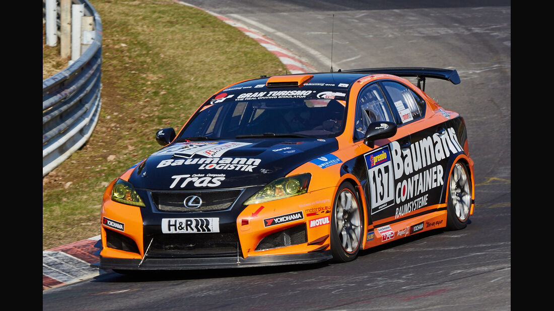 VLN2015-Nürburgring-Lexus ISF CCS-R-Startnummer #137-SP8