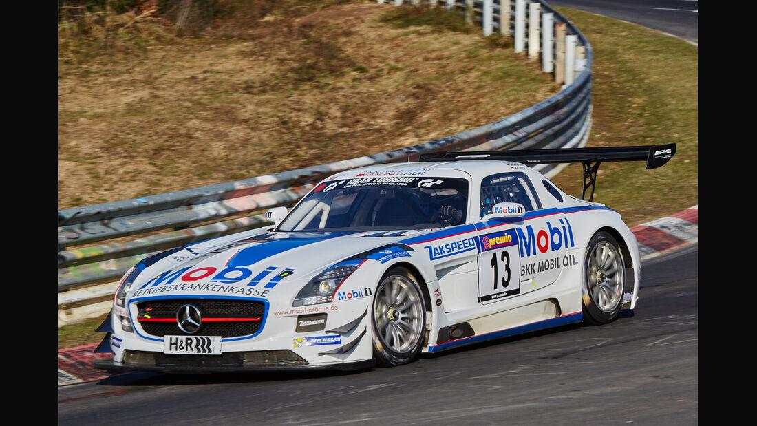 VLN2015-Nürburgring-Mercedes-Benz SLS AMG GT3-Startnummer #13-SP9