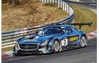 VLN2015-Nürburgring-Mercedes-Benz SLS AMG GT3-Startnummer #3-SP9