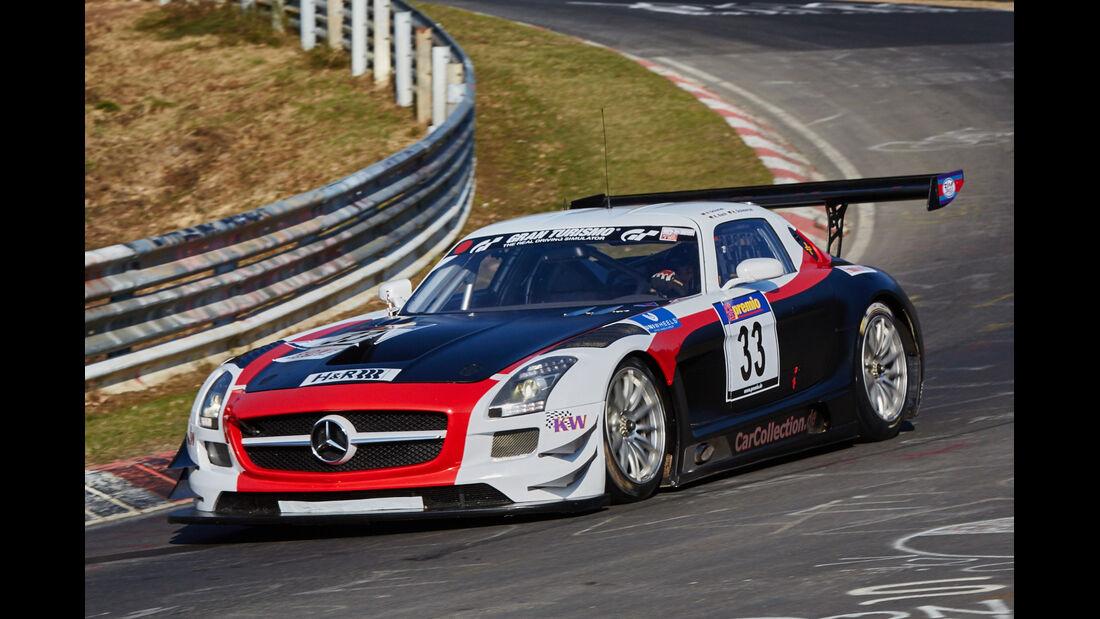 VLN2015-Nürburgring-Mercedes-Benz SLS AMG GT3-Startnummer #33-SP9