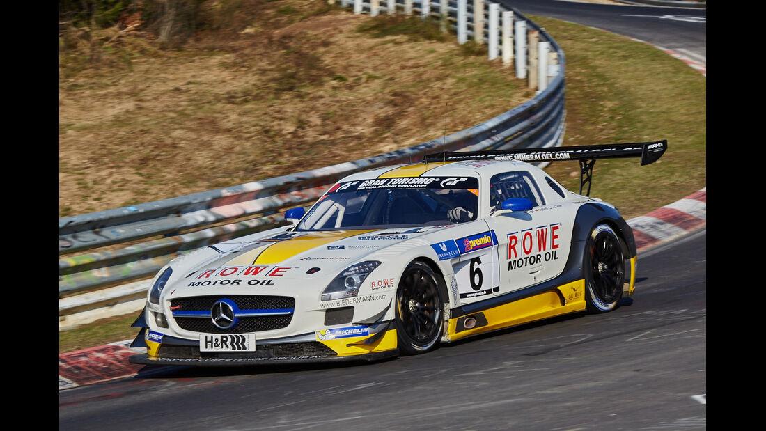 VLN2015-Nürburgring-Mercedes-Benz SLS AMG GT3-Startnummer #6-SP9
