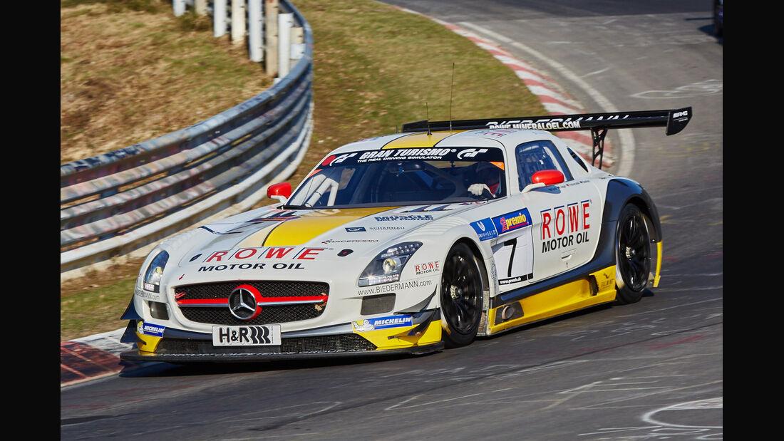 VLN2015-Nürburgring-Mercedes-Benz SLS AMG GT3-Startnummer #7-SP9