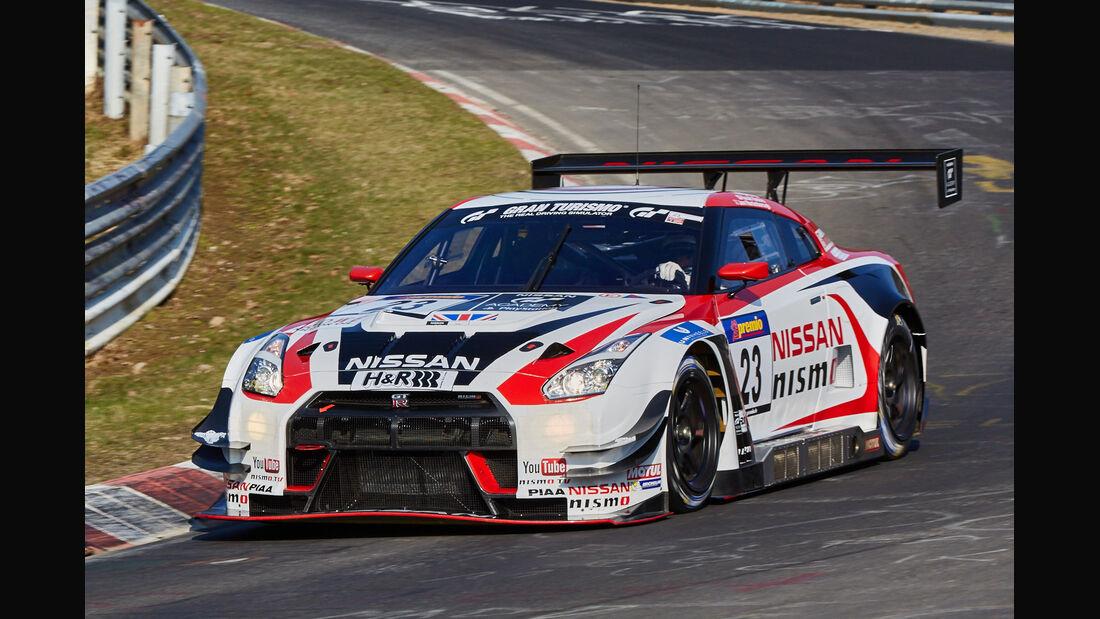 VLN2015-Nürburgring-Nissan GT-R Nismo GT3-Startnummer #23-SP9