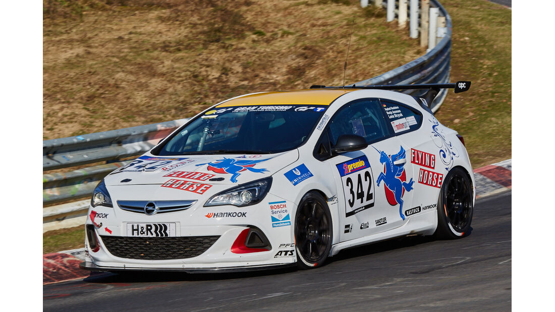 VLN2015-Nürburgring-Opel Astra OPC Cup-Startnummer #342-CUP1