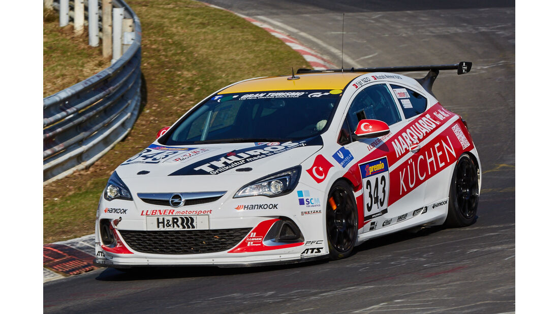 VLN2015-Nürburgring-Opel Astra OPC Cup-Startnummer #343-CUP1