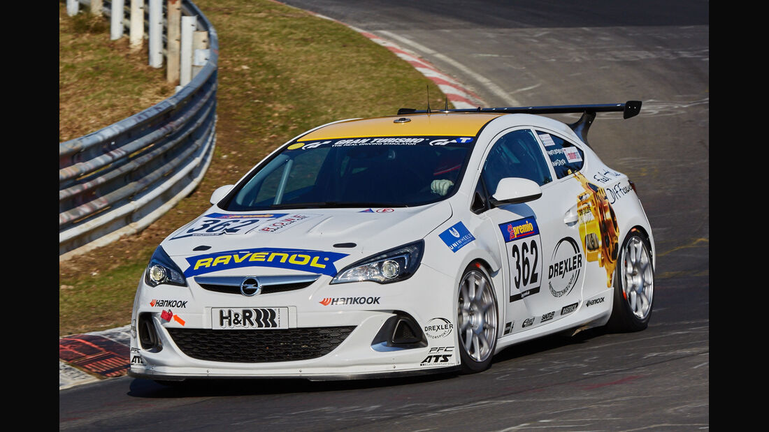 VLN2015-Nürburgring-Opel Astra OPC Cup-Startnummer #362-CUP1