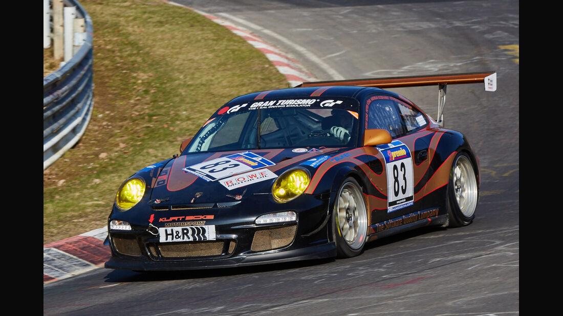 VLN2015-Nürburgring-Porsche 911 GT 3 Cup 997-Startnummer #83-SP7
