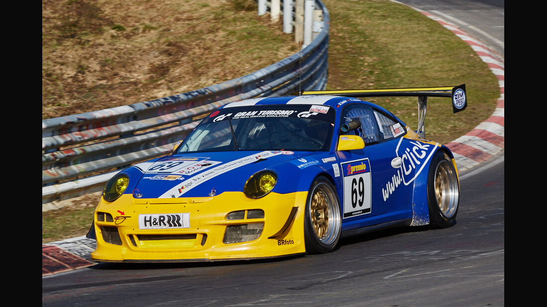 VLN2015-Nürburgring-Porsche 911 GT3 997-Startnummer #69-SP7