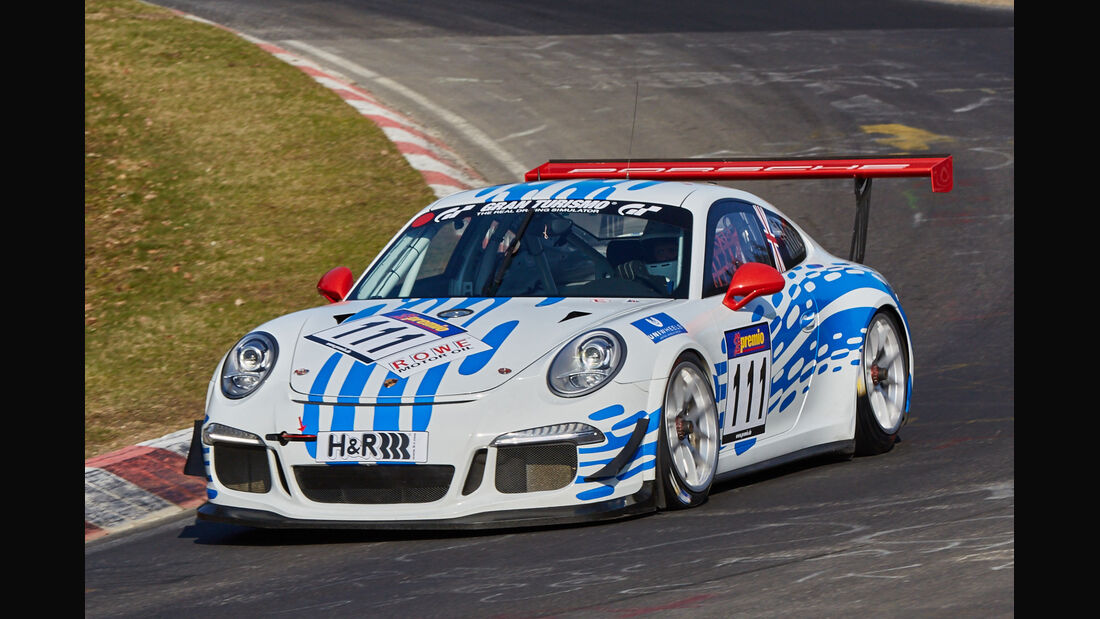 VLN2015-Nürburgring-Porsche 911 GT3 Cup 991-Startnummer #111-CUP2