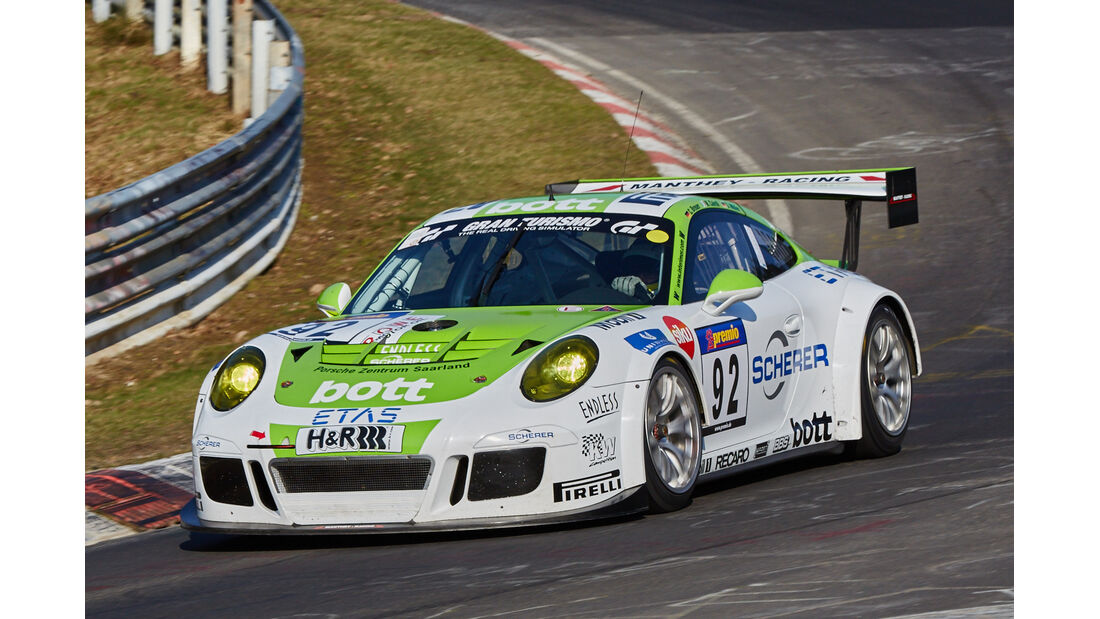 VLN2015-Nürburgring-Porsche 911 GT3 Cup MR-Startnummer 92-SP7
