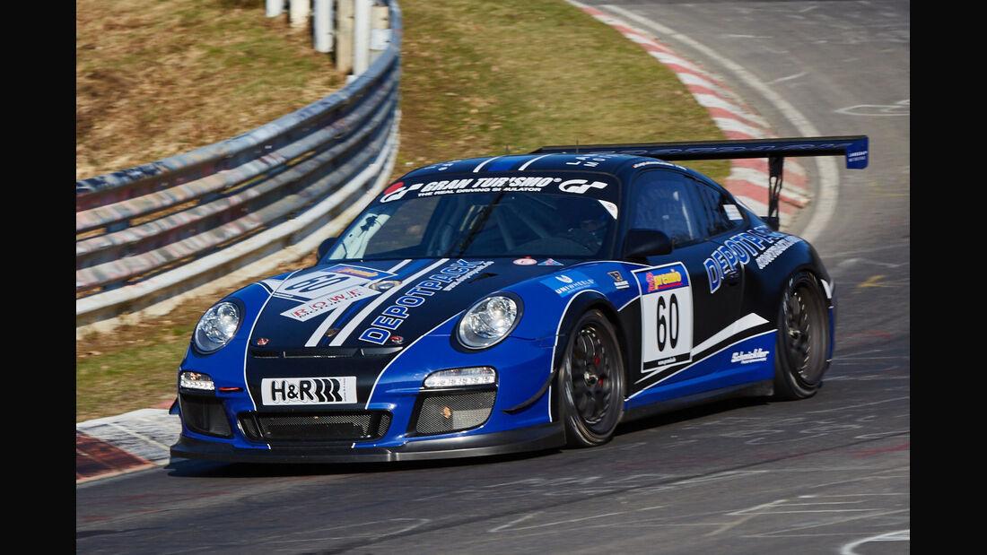 VLN2015-Nürburgring-Porsche 911 GT3 Cup-Startnummer #60-SP7