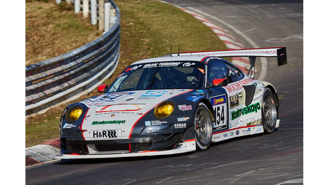 VLN2015-Nürburgring-Porsche 911 GT3 RSR-Startnummer #154-SPPRO