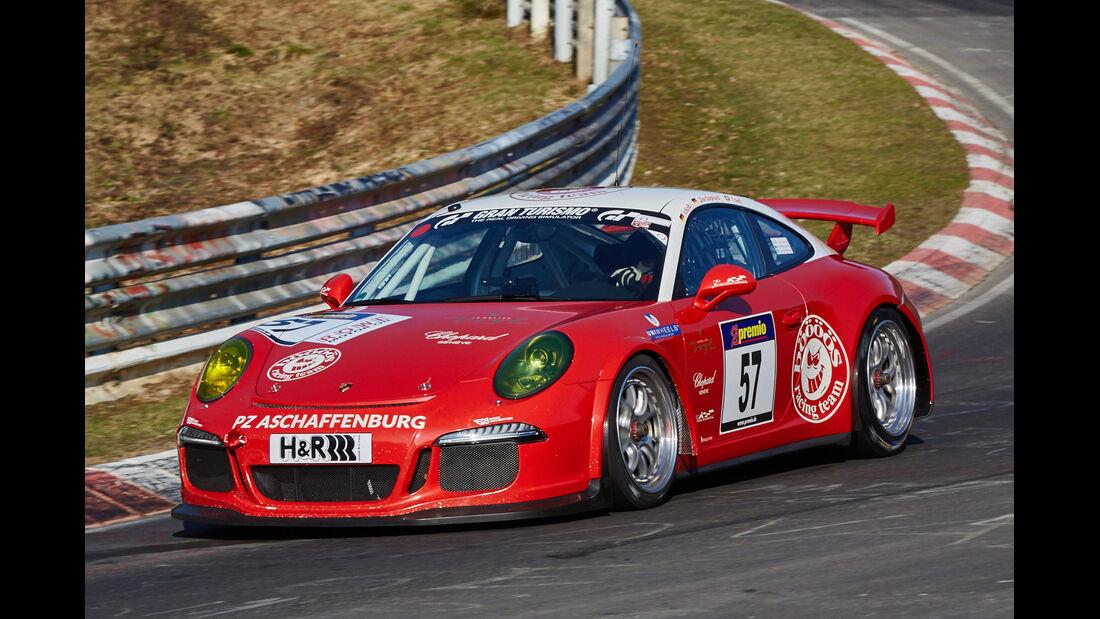 VLN2015-Nürburgring-Porsche 911 GT3-Startnummer #57-SP7