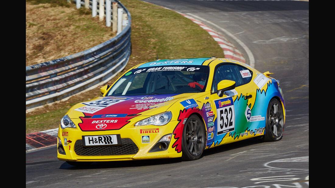 VLN2015-Nürburgring-Toyota GT 86 Cup-Startnummer #532-CUP4