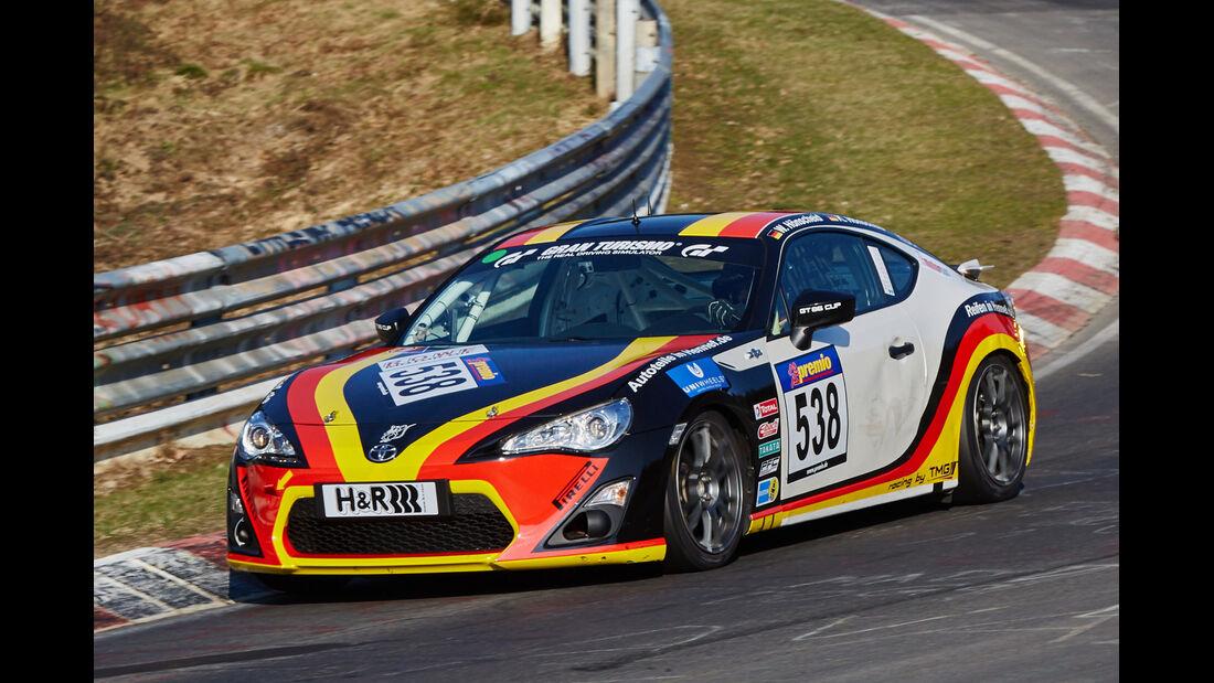 VLN2015-Nürburgring-Toyota GT 86 Cup-Startnummer #538-CUP4