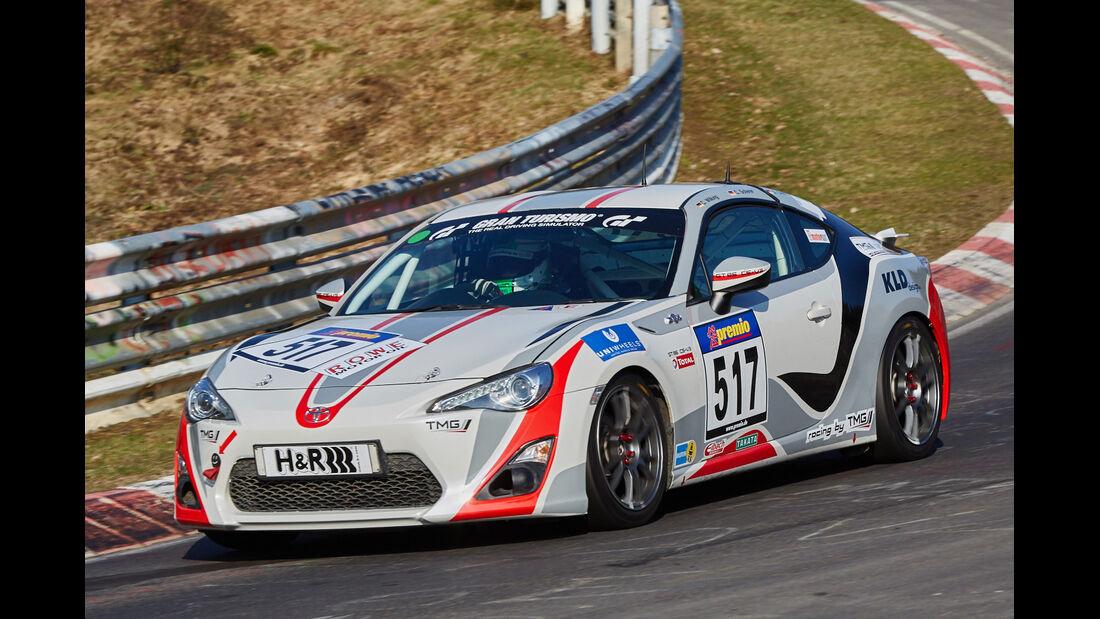 VLN2015-Nürburgring-Toyota GT 86-Startnummer #517-V3