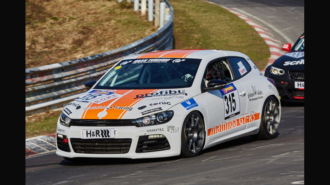 VLN2015-Nürburgring-Volkswagen Scirocco-Startnummer #315-SP3T